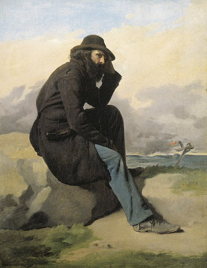 L'Esule by Antonio Ciseri (1821-1891)