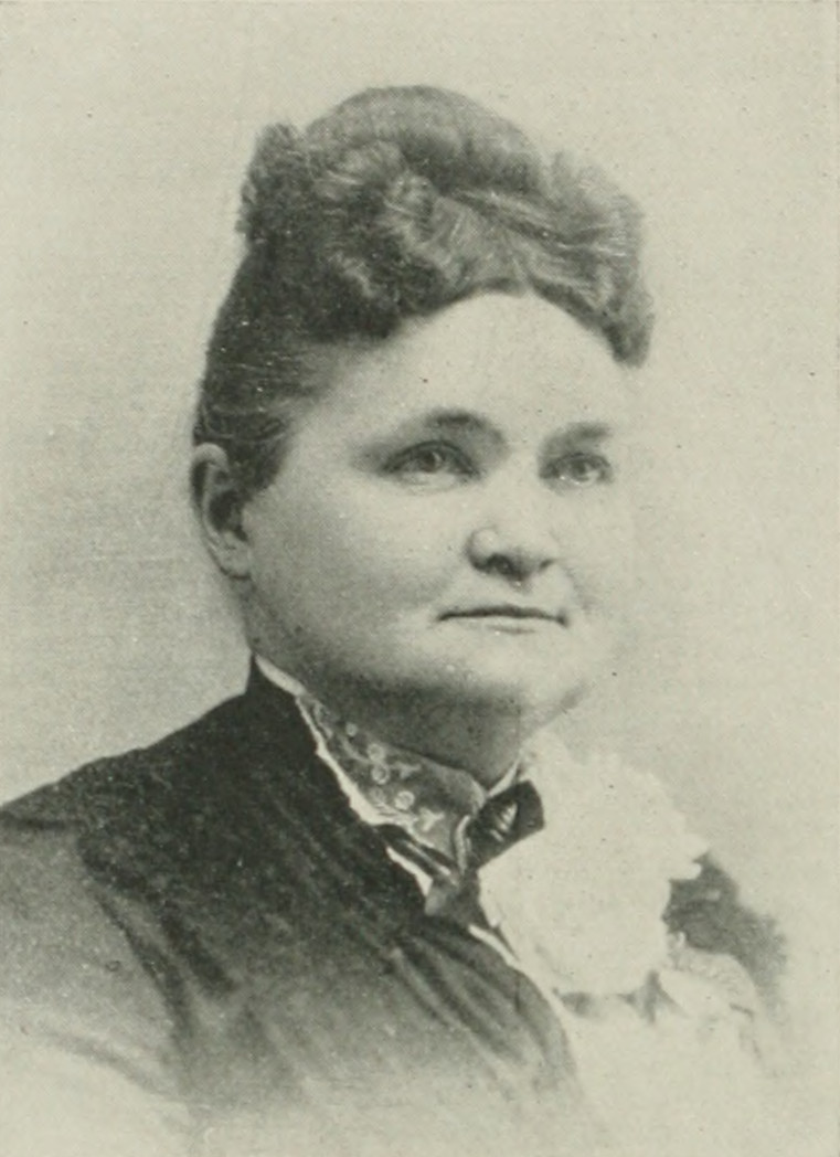 LAURA A. SUNDERLIN NOURSE A woman of the century (page 552 crop).jpg