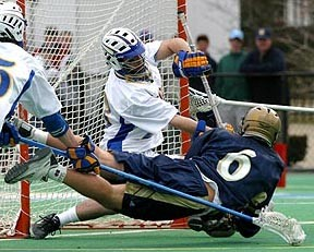 Lacrosse diving shots