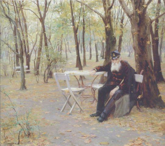 Laszlo - Falling Leaves, 1895