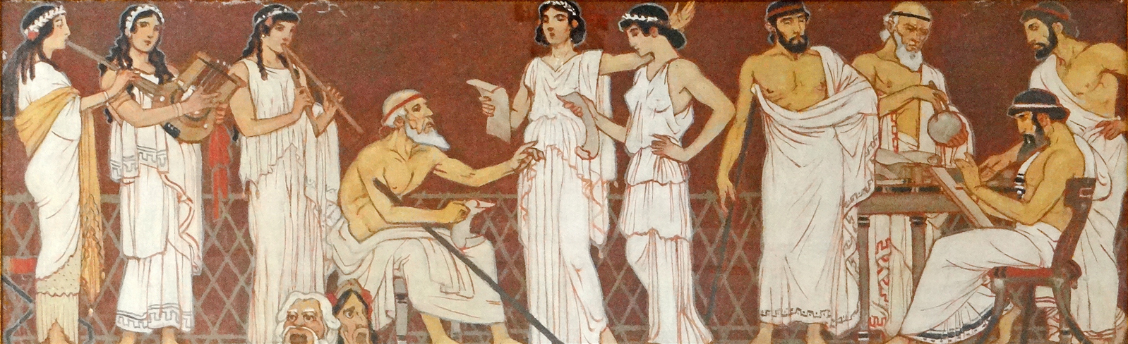File les sciences et les arts dans la gr ce antique for Arts de la maison