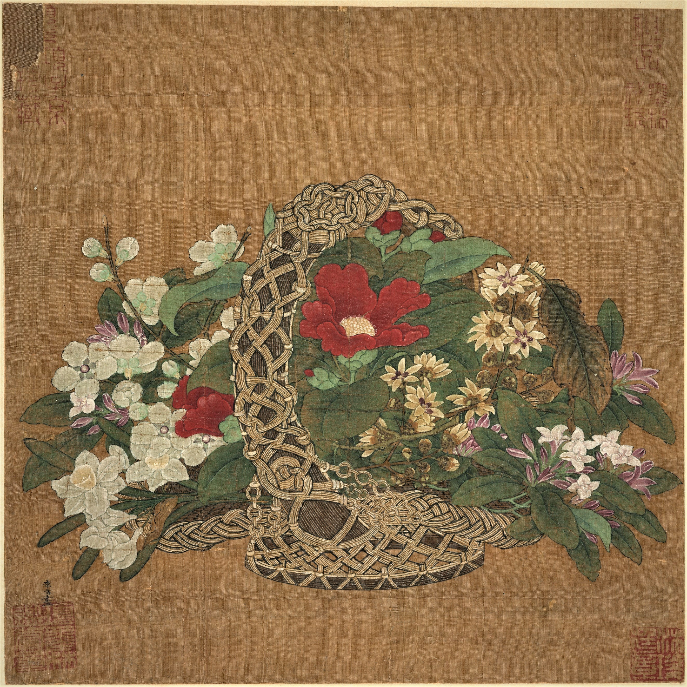 File:Li Song, Basket of Flowers.jpg