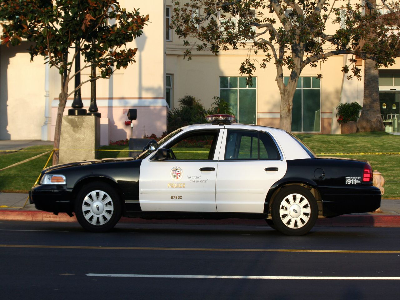 Color car los angeles - File Los Angeles Police Car Jpg