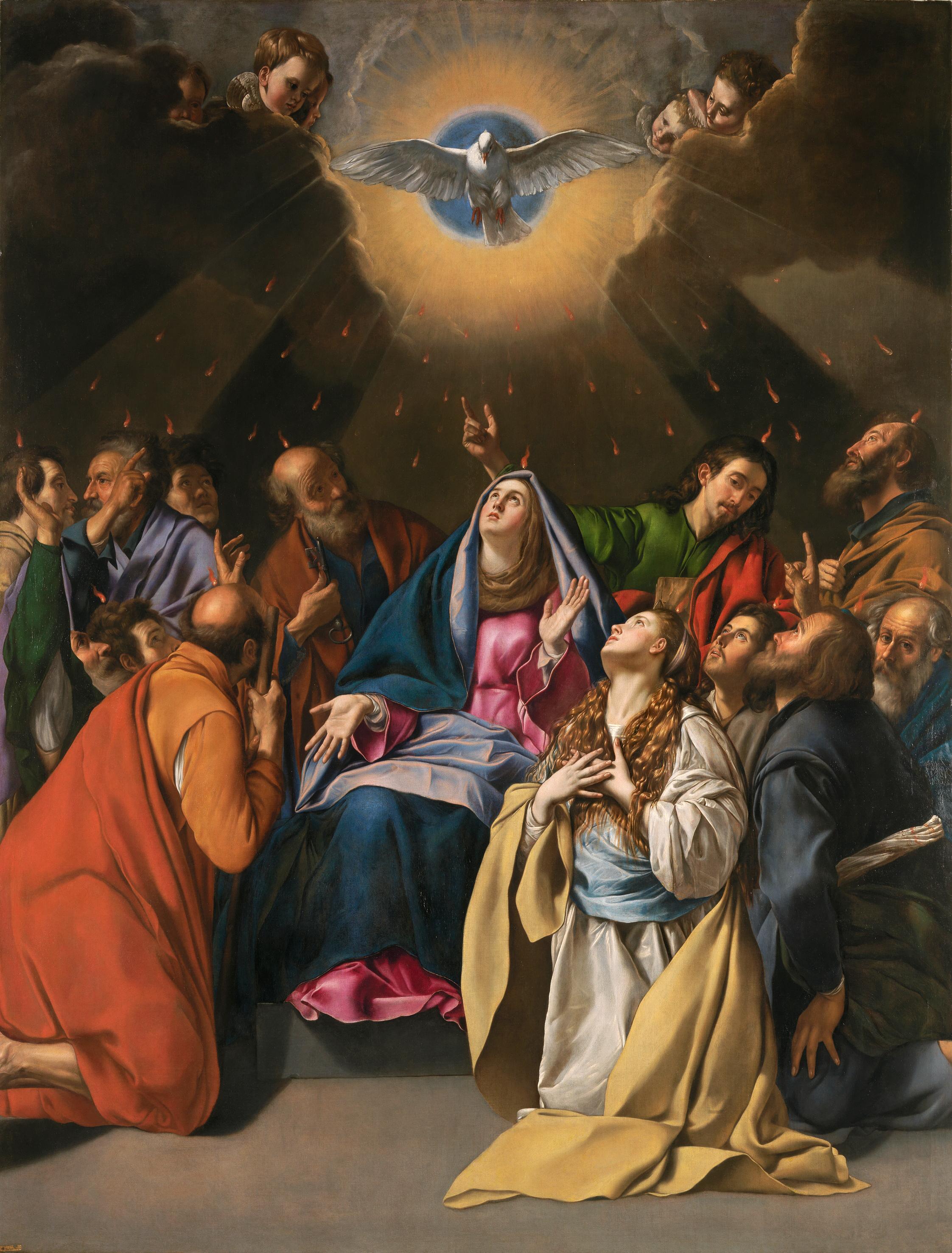 File:Maino Pentecostés, 1620-1625. Museo del Prado.jpg - Wikimedia Commons