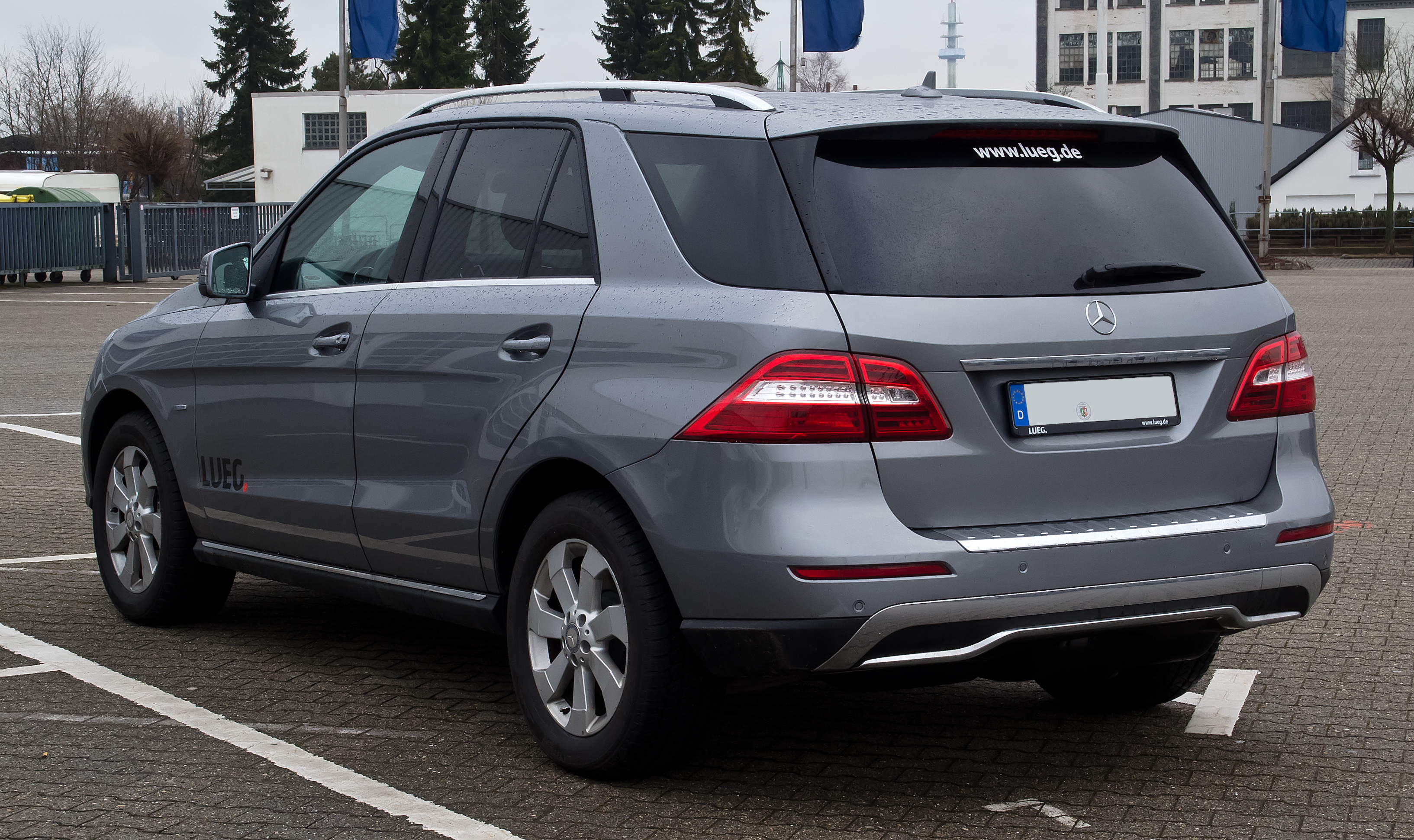File mercedes benz ml 250 bluetec w 166 heckansicht for Mercedes benz ml 250 bluetec