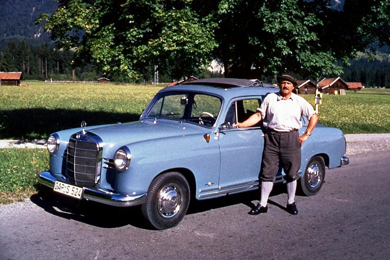 Mercedes Garmisch