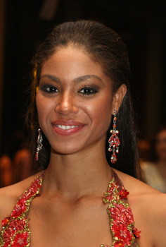 Miss Jamaica 2007 Yendi Phillips. Photo taken ...