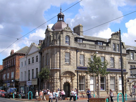 National Westminster Bank, Church Street, Fleetwood - geograph.org.uk - 1401645 (cropped)
