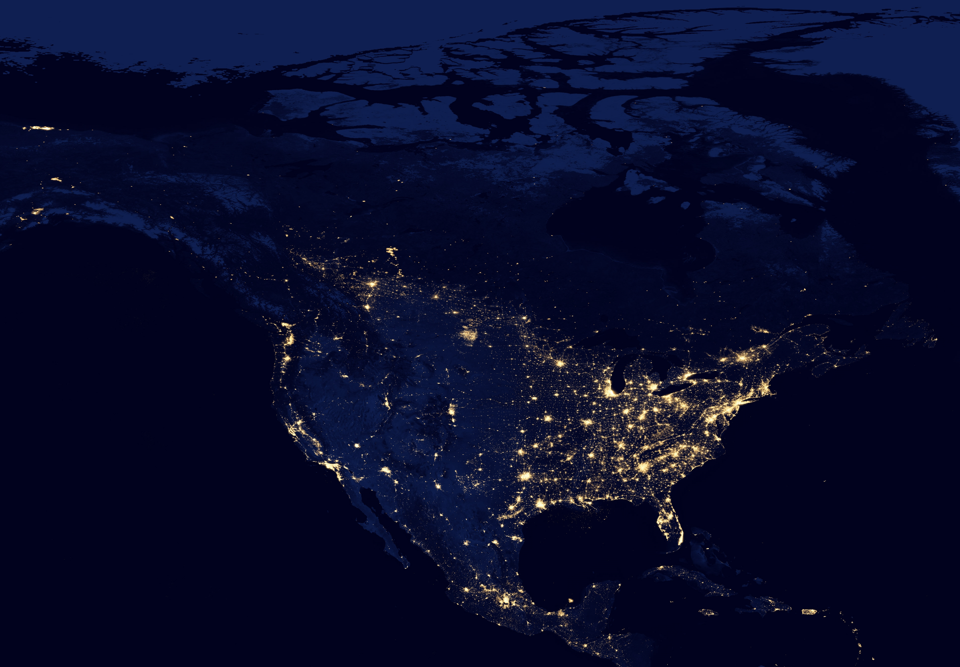 north america from space hd - photo #21