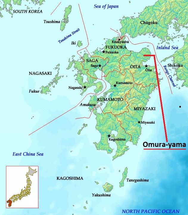 Kyushu Location On Map