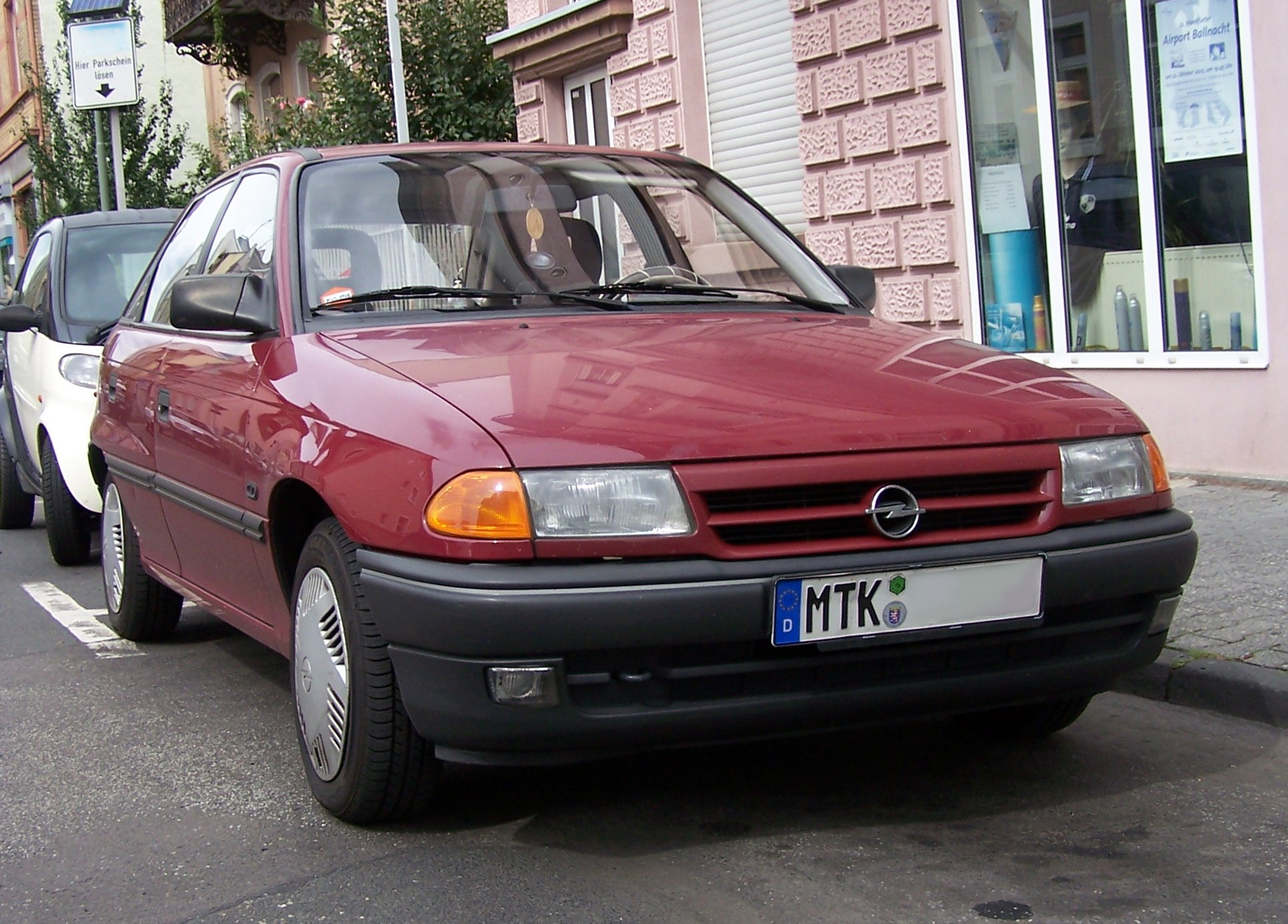 OPEL ASTRA F 2.0i 115PS 1991-1996 Katalysator