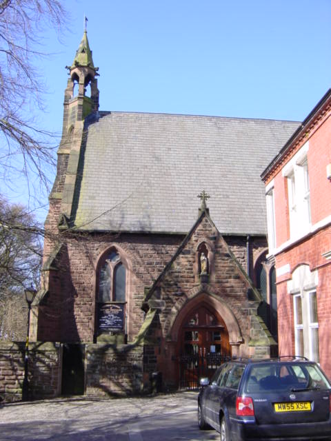 Our Lady Immaculate and St Joseph Church, Prescot - Wikipedia