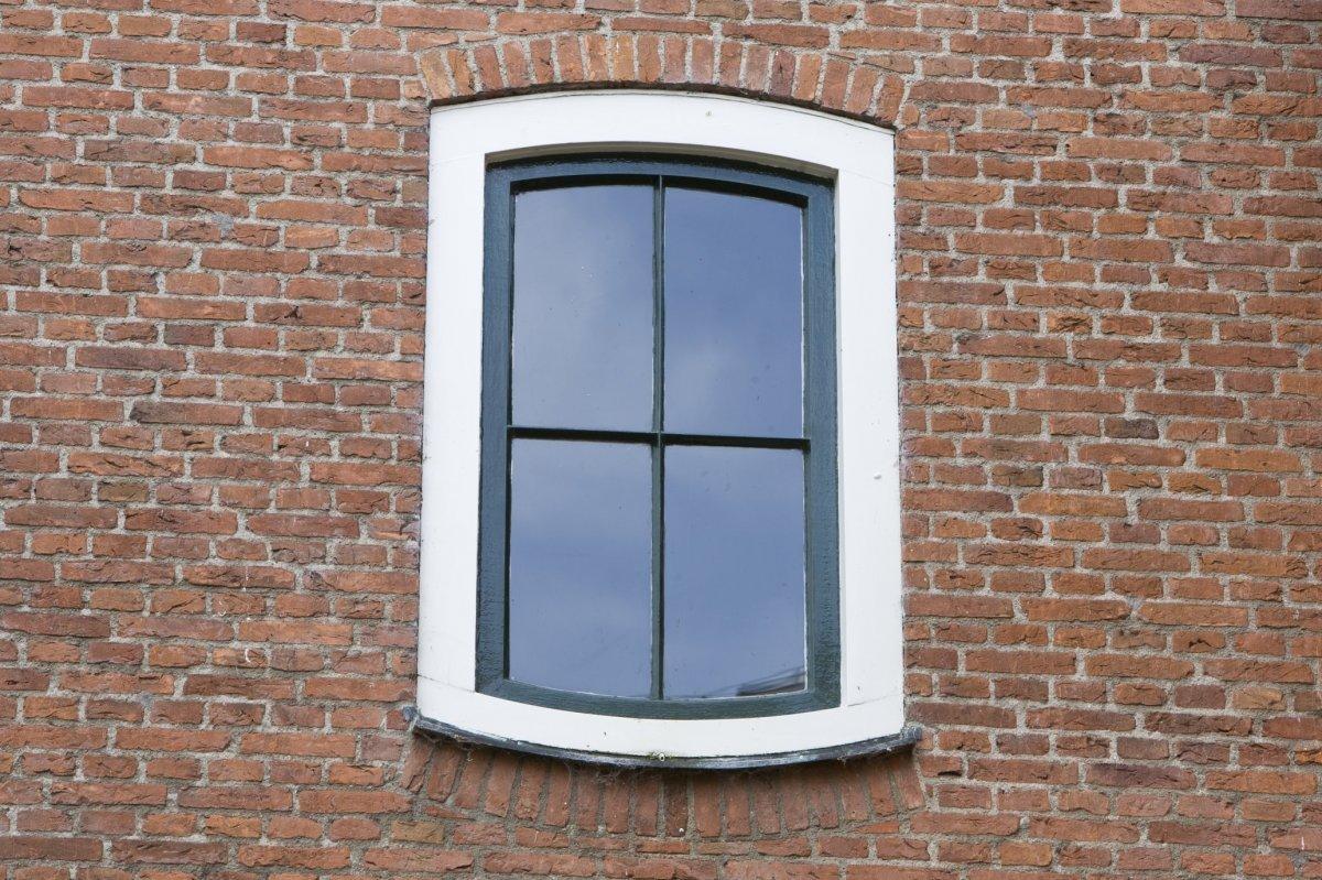 file overzicht venster raam met gebogen dorpel van