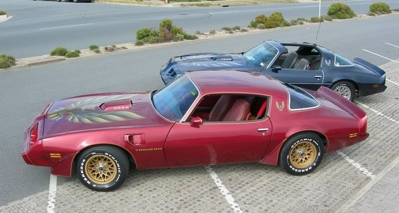 1979 Pontiac Firebird Trans Am In T Top And Coupe Versions
