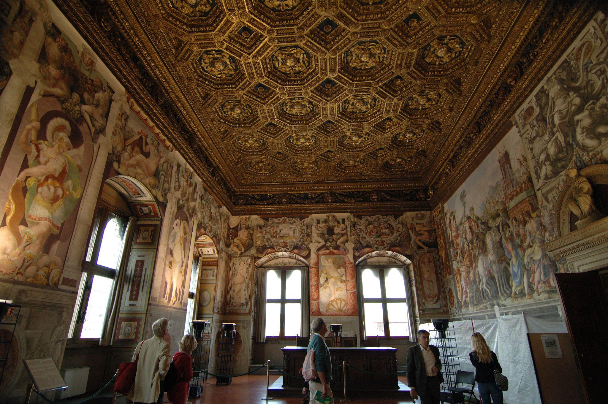 Description palazzo vecchio sala del trionfo 00