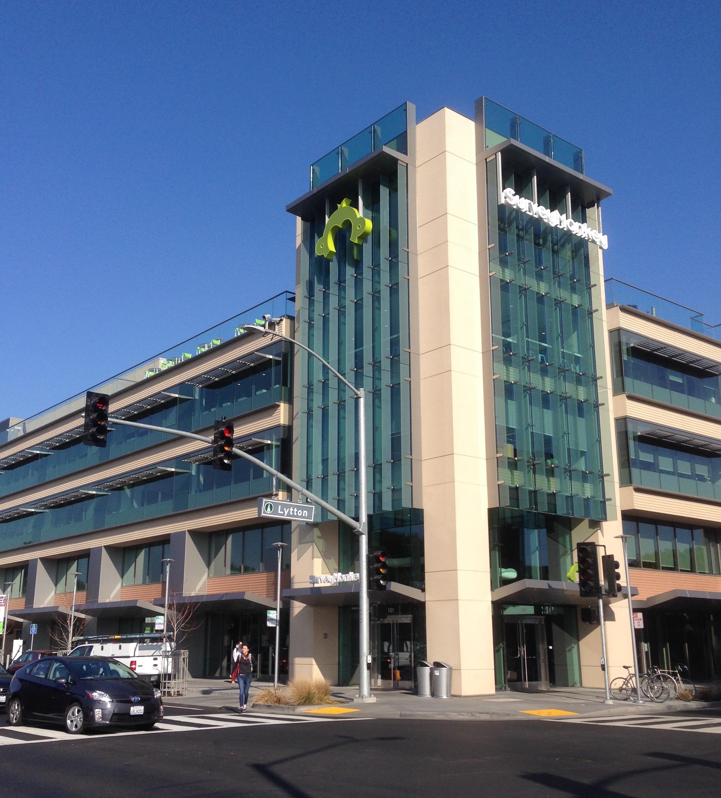The SurveyMonkey office in Palo Alto, California.