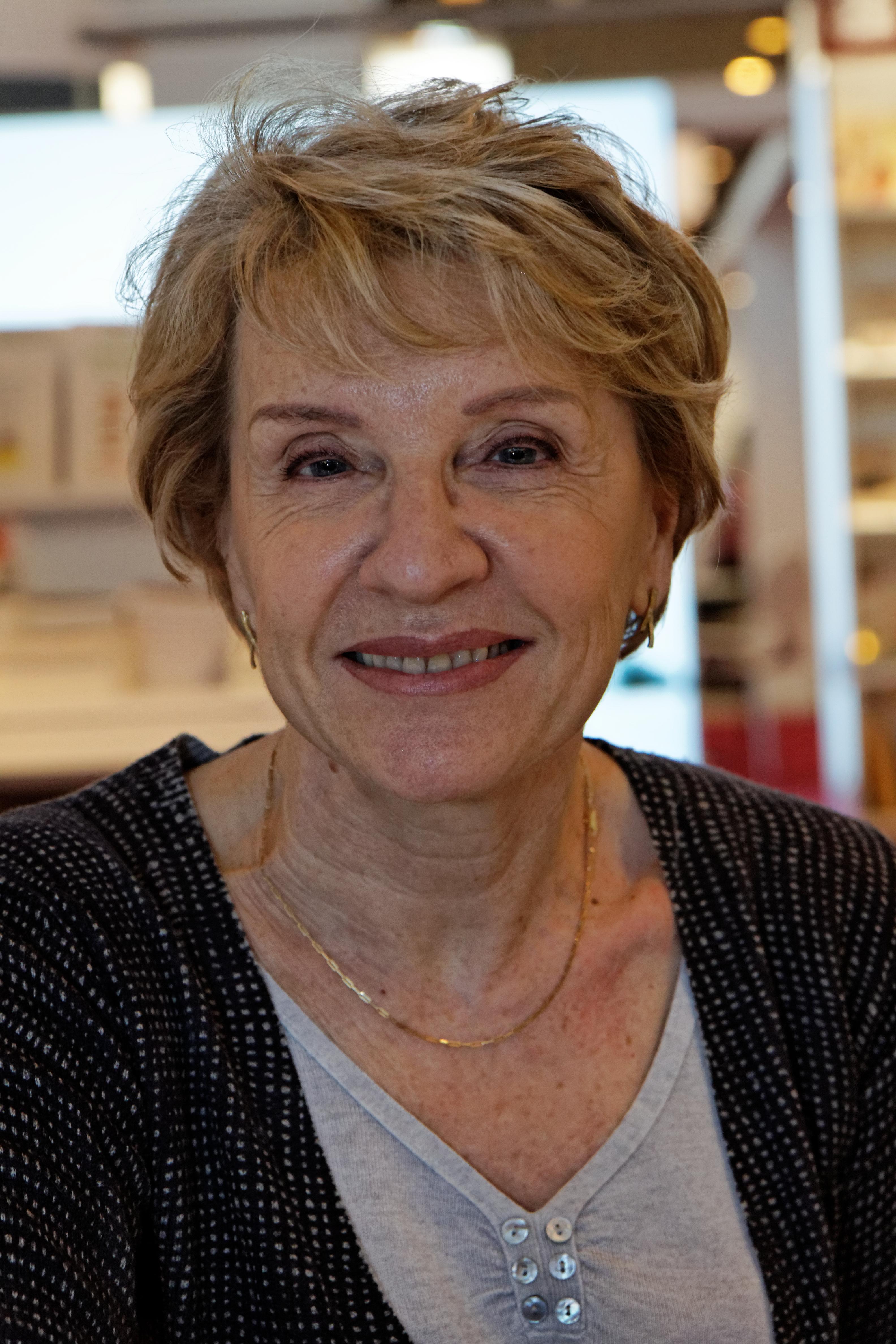 Marie-France Hirigoyen at the Paris Book Fair 2012.
