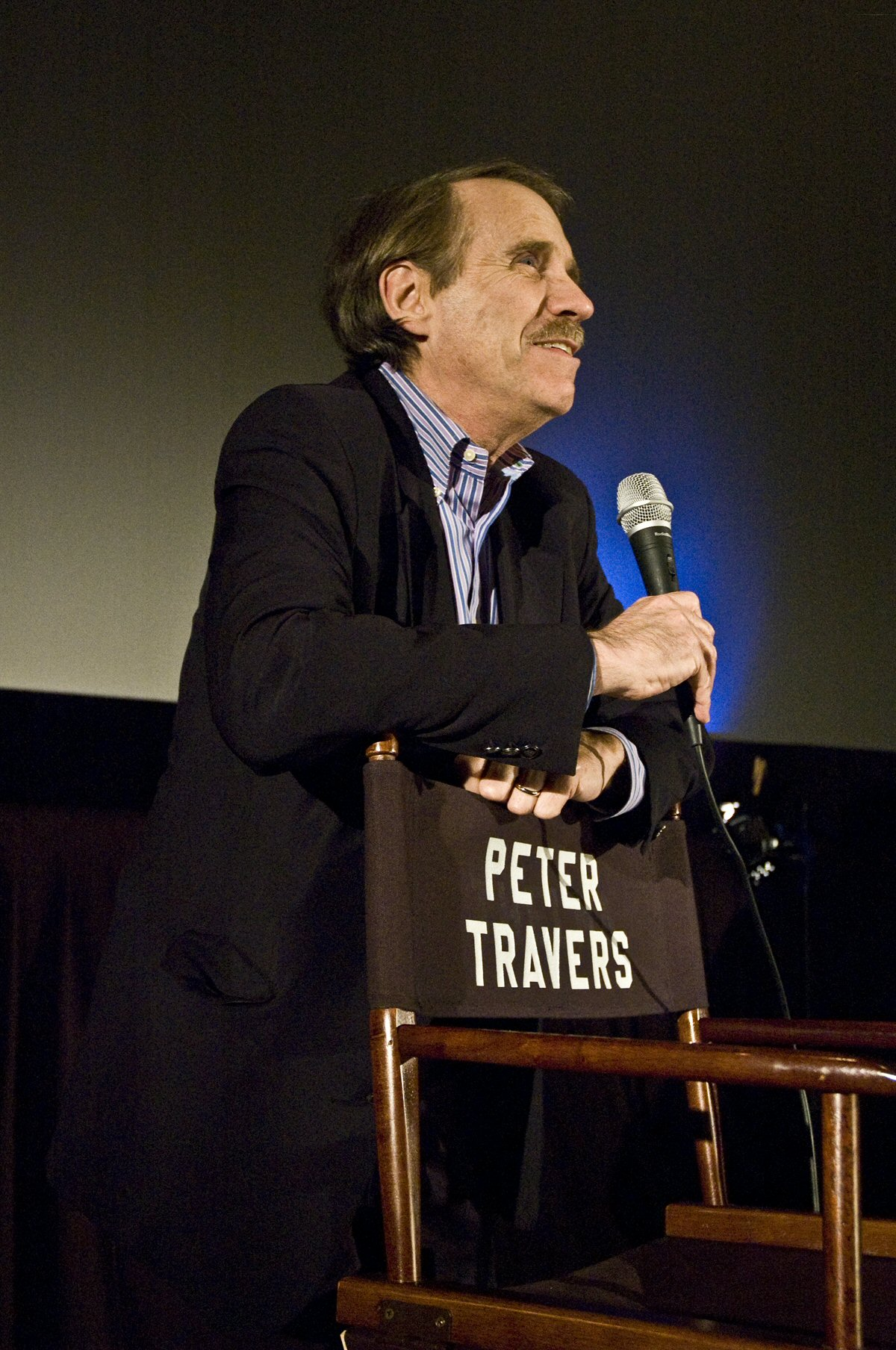 Depiction of Peter Travers