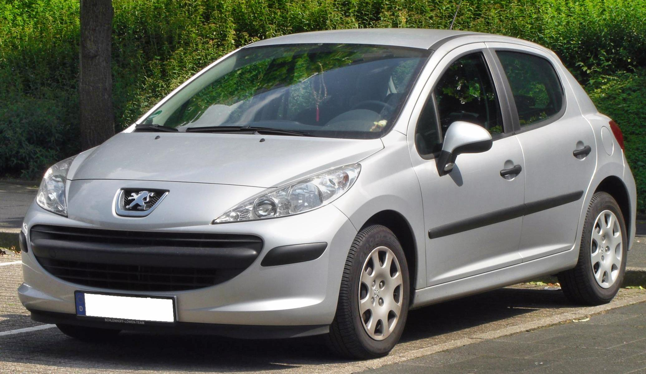 File Peugeot 207 2007 Front Jpg Simple English