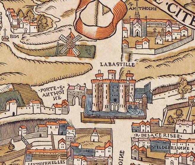 File:Plan de Paris vers 1550 porte St-Antoine.jpg