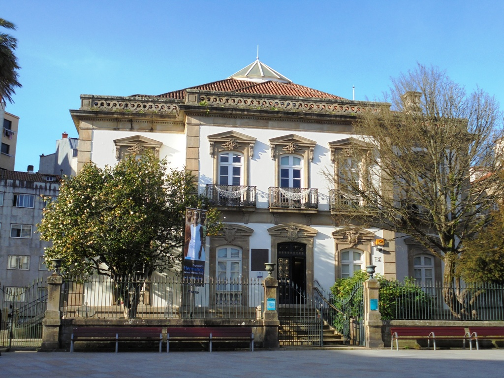 Palacete de las mendoza wikipedia la enciclopedia libre - Casas prefabricadas pontevedra ...