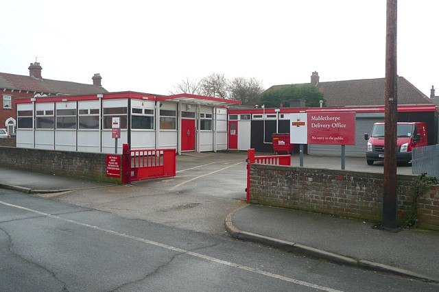 File:Post office delivery office, Mablethorpe - geograph.org.uk - 1186977.jpg