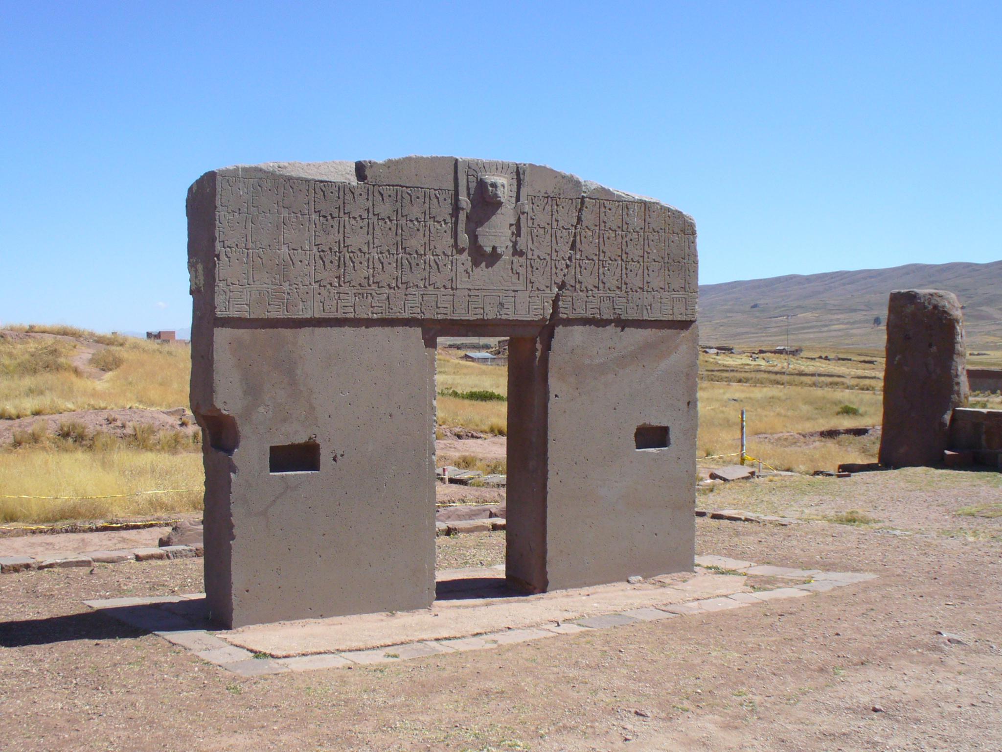 filepuerta del sol s237mbolo de tiwanaku boliviajpg