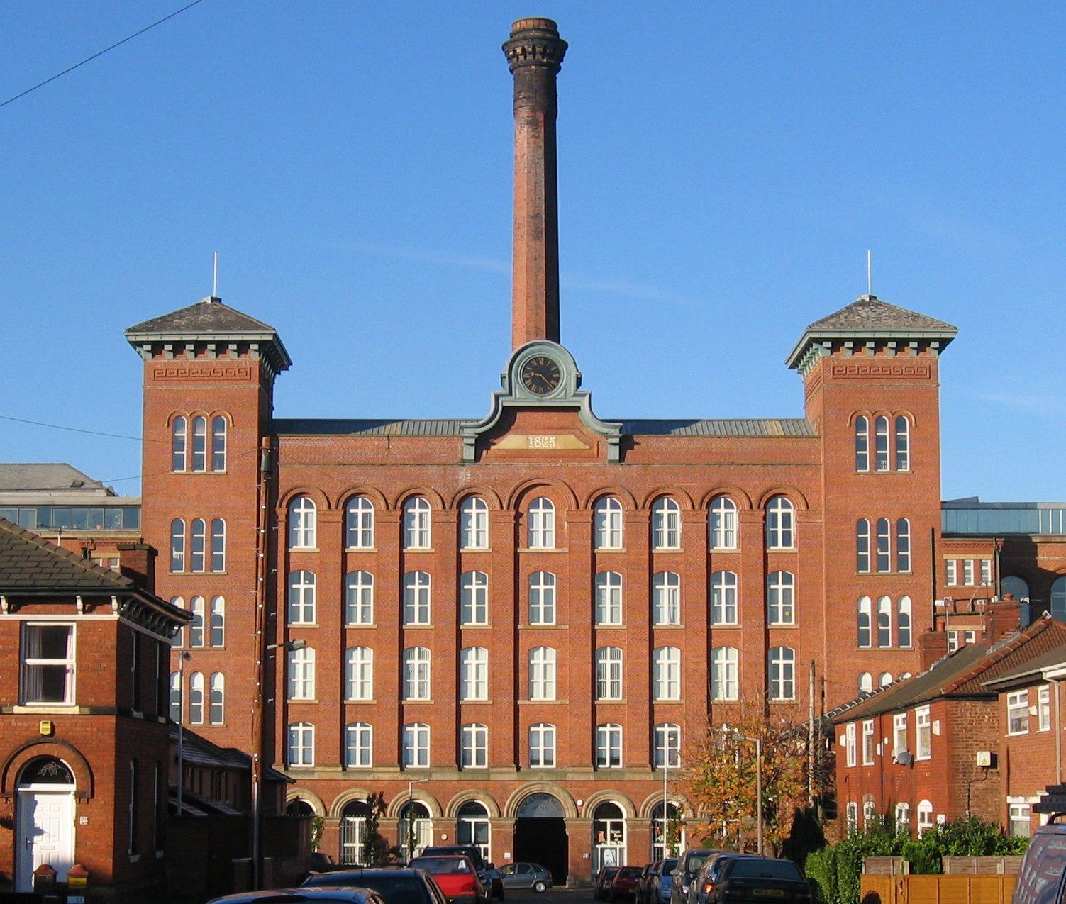 Weaving Mill in Reddish, UK.