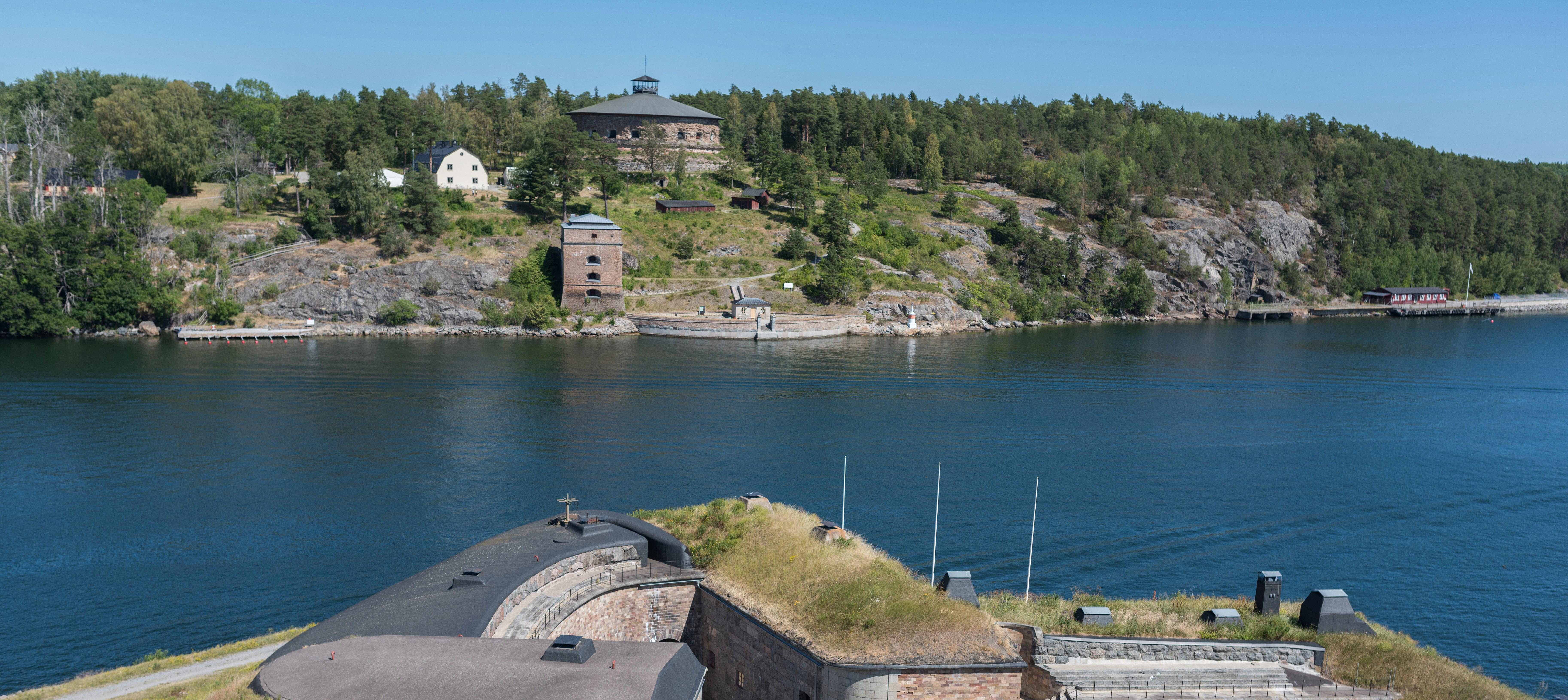 Havsutsikt p Rind - Cabins for Rent in Vaxholm, Stockholms