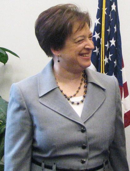 Associate Supreme Court Justice Elena Kagan