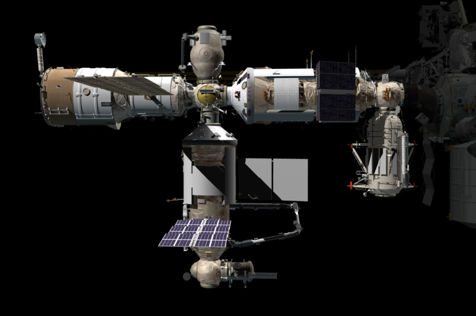 Russian Space Program: News & Discussion #3 - Page 35 Russian_Orbital_Segment_-_post_Nauka_launch_%283D_rendering%29
