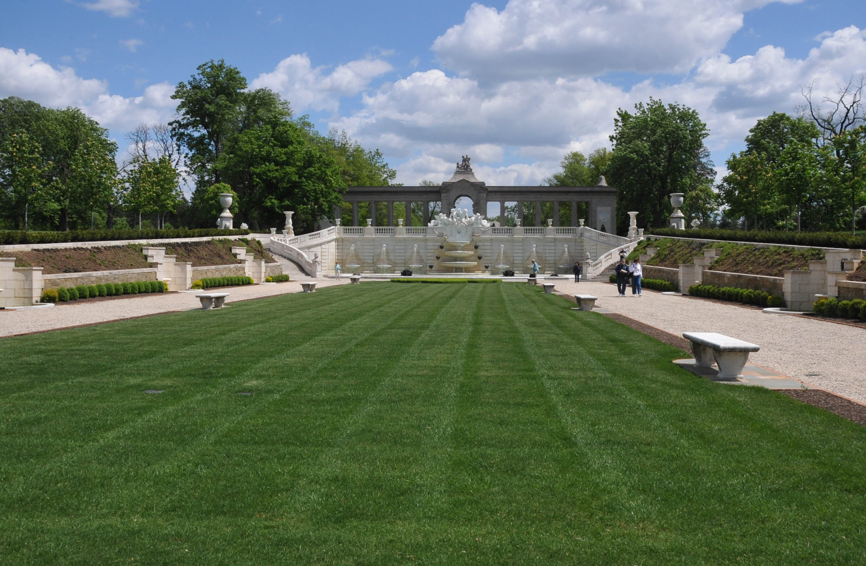 File Sunken Garden At Nemours Mansion Delaware Jpg