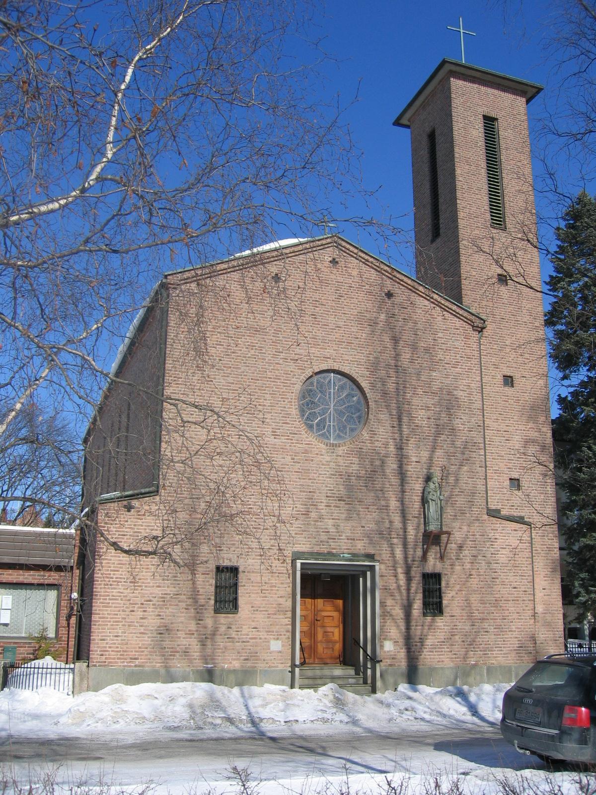 St. Torfinn katolske kirke på Hamar