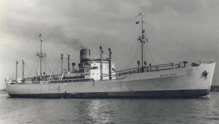 Noch als Santa Cruz 1938