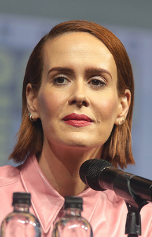 The 43-year old daughter of father (?) and mother(?) Sarah Paulson in 2018 photo. Sarah Paulson earned a  million dollar salary - leaving the net worth at 12 million in 2018