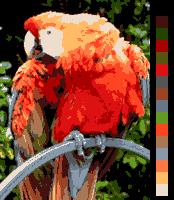 Ekrana kolortesto AppleIIgs 16colors.png