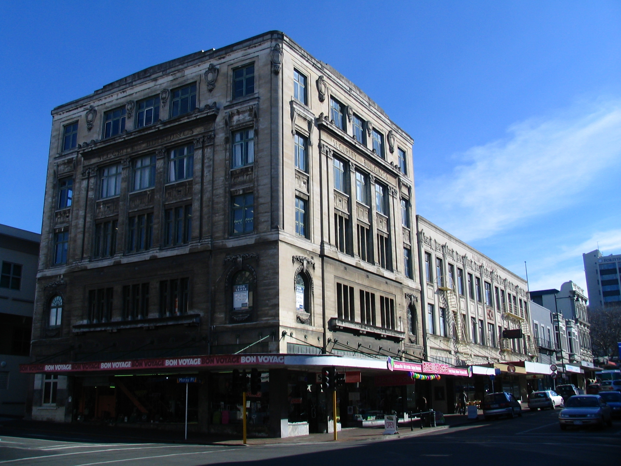 file security building and allbell chambers dunedin new