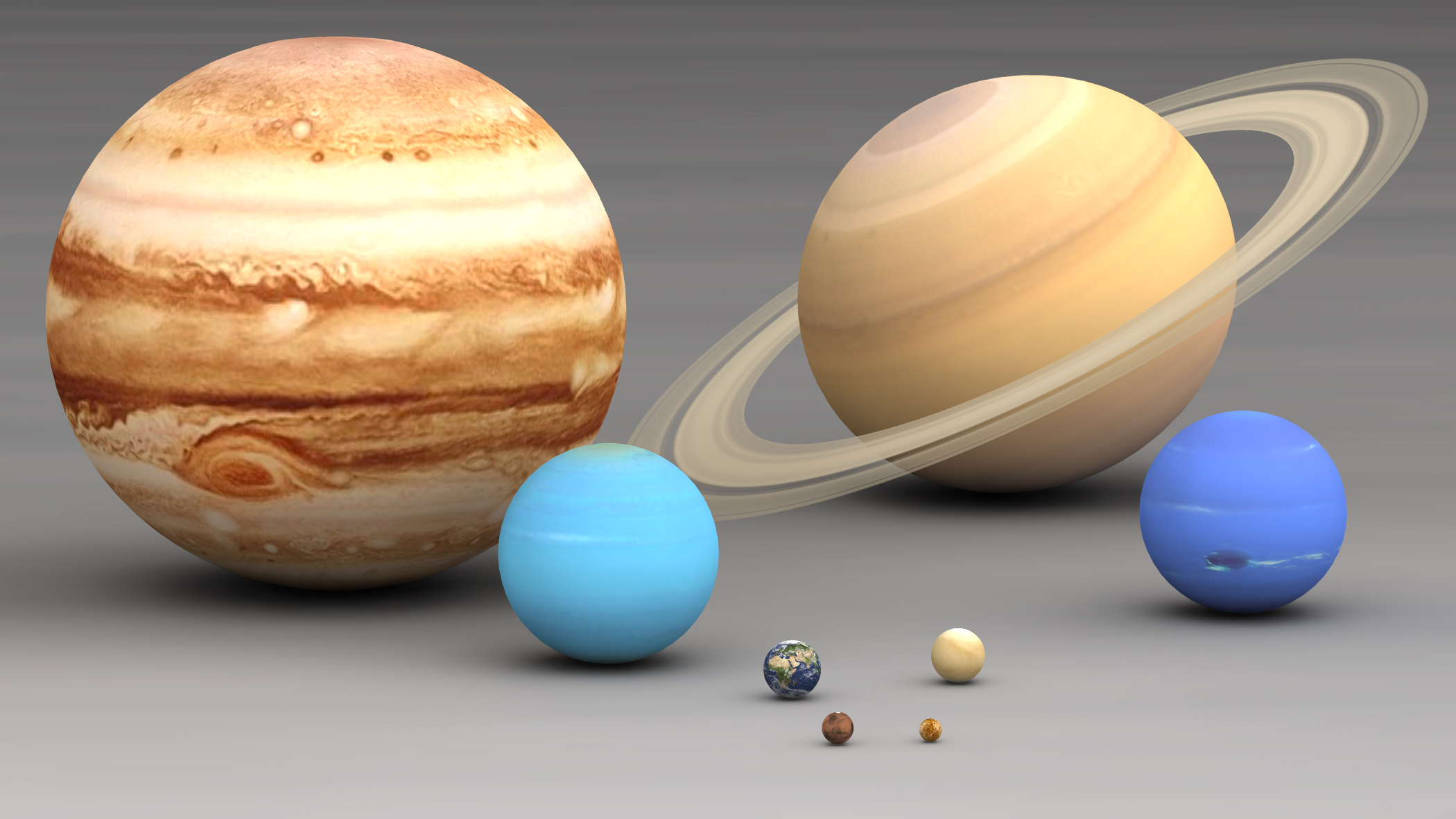planet size comparison - photo #2