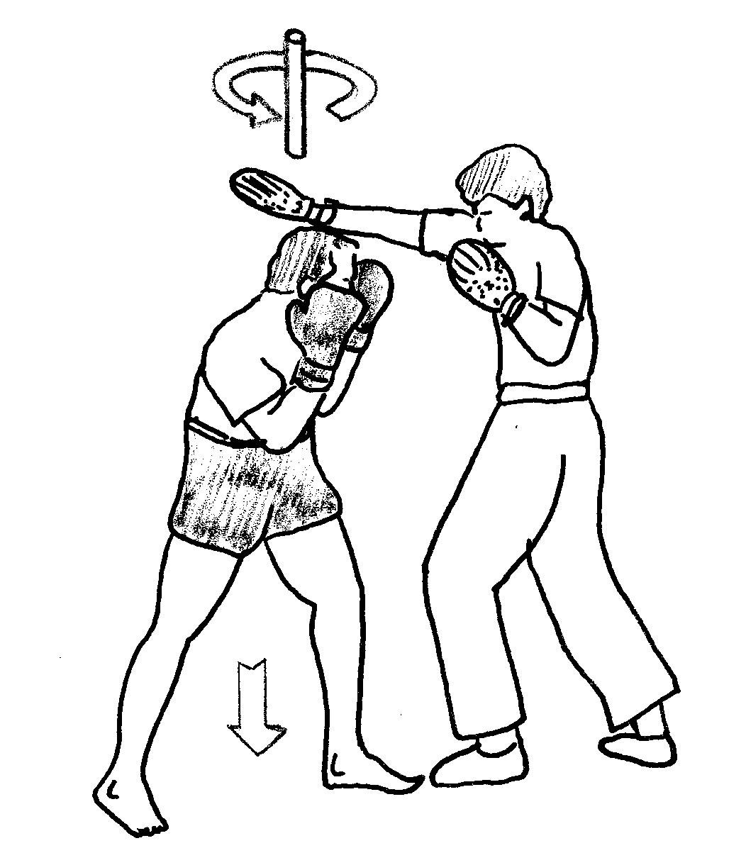 Esquive boxe anglaise