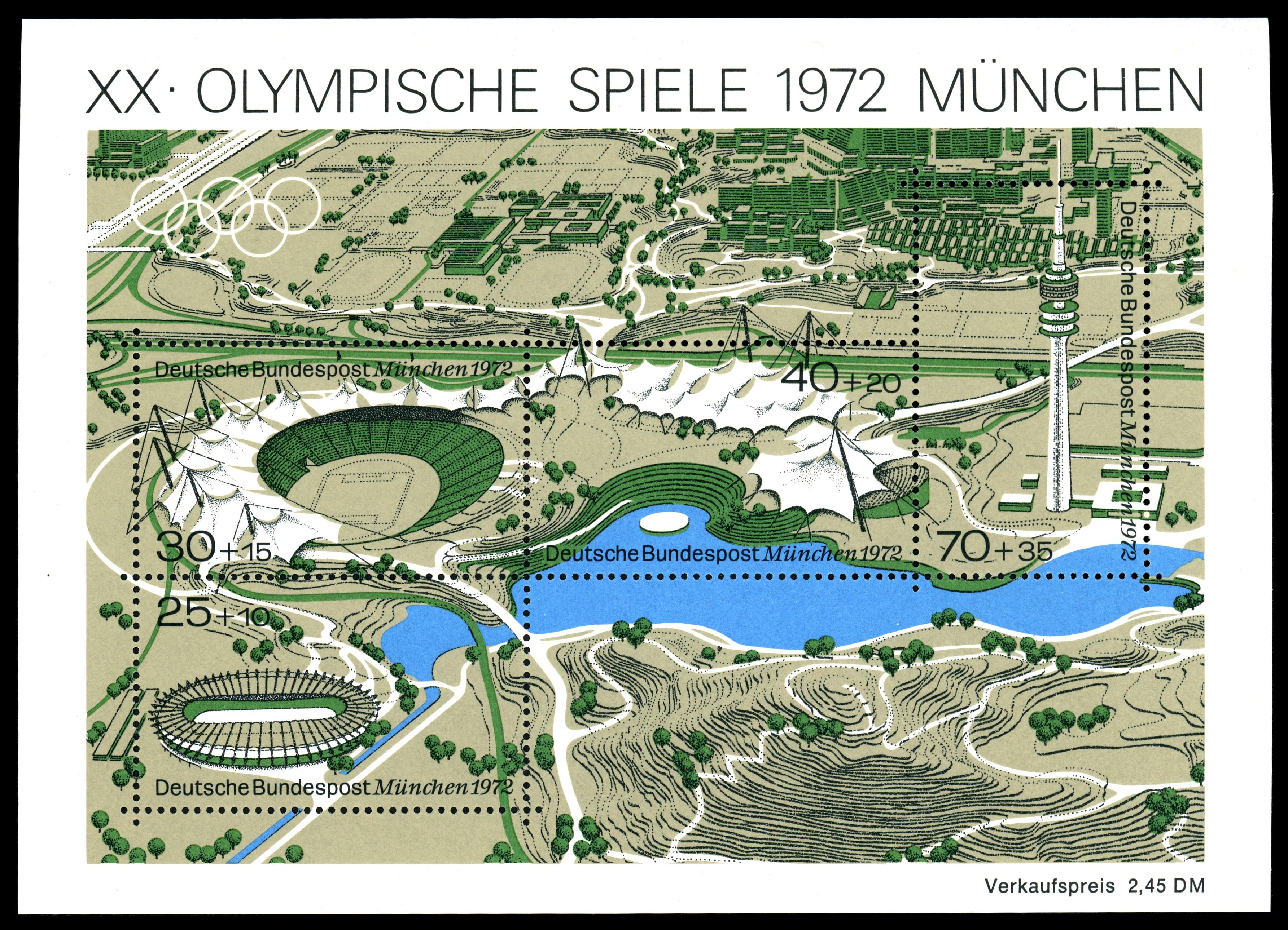 Datei Stamps Of Germany Brd Olympiade 1972 Blockausgabe 1972 Markenblock 1 Jpg Wikipedia