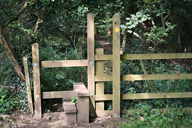 Stile on St Michael's Way Footpath - geograph.org.uk - 540439