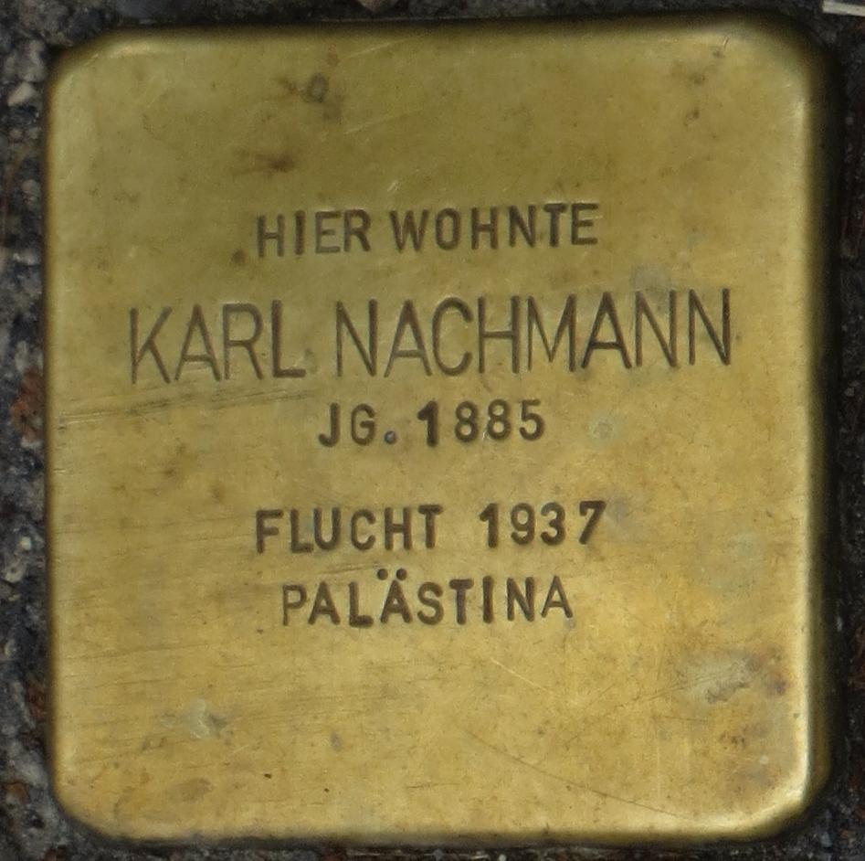 Stolperstein Rastatt Karl Nachmann.jpg