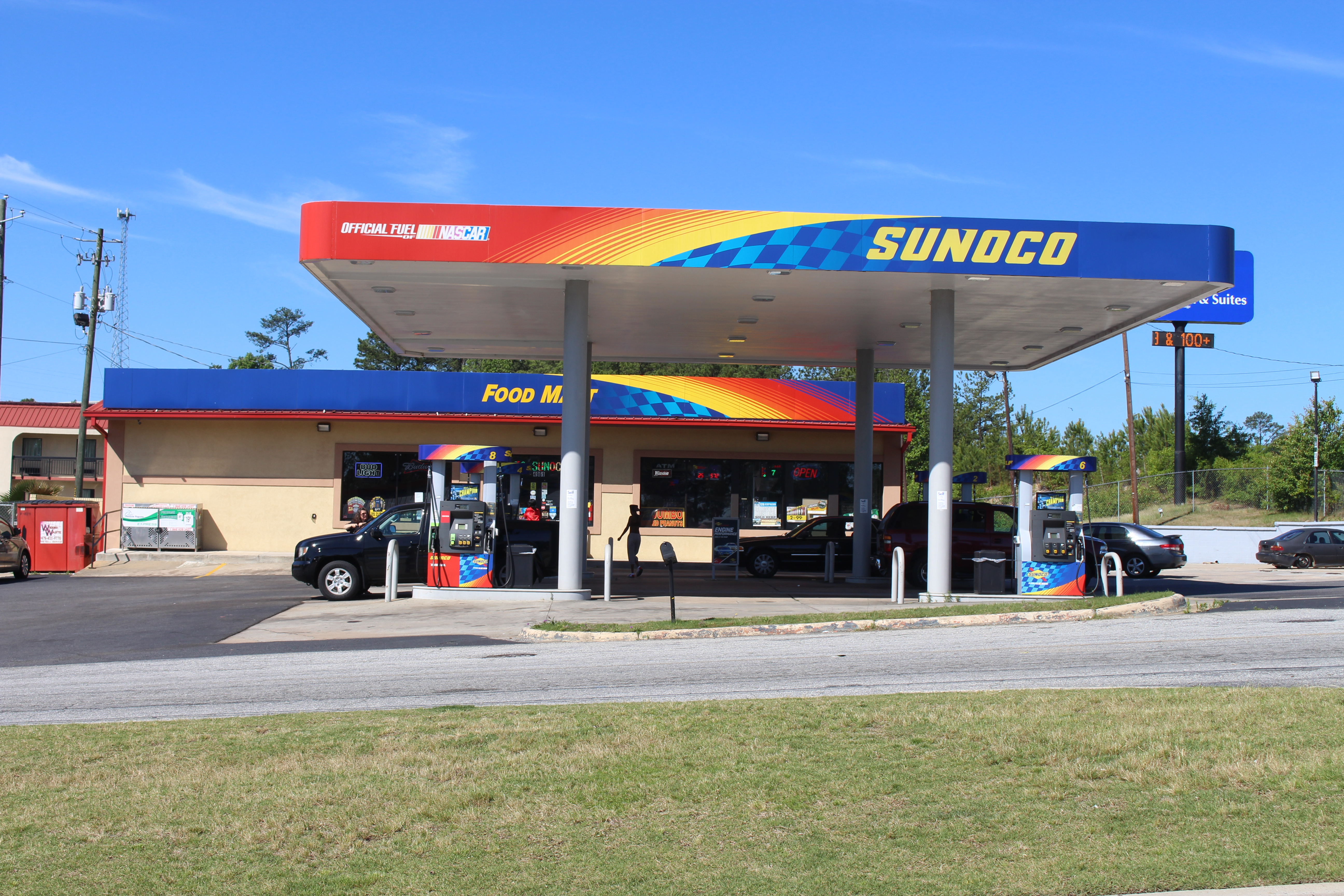 Sunoco Gas Station Near Me >> File Sunoco Gas Station Romeiser Dr Macon Jpg Wikimedia Commons