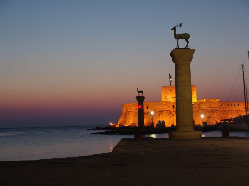 File:Sunrise at the Island of Rhodes, Greece.jpg