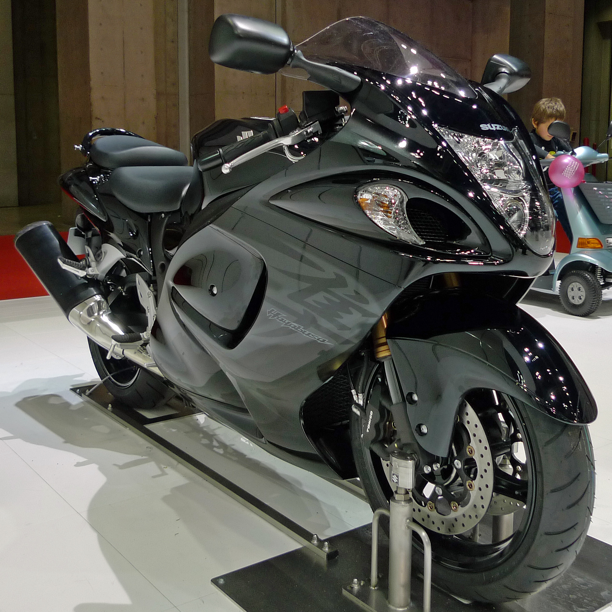 Suzuki Hayabusa Engine Horsepower