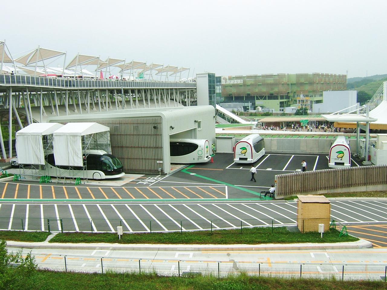 File Toyota Imts Garage In Expo 2005 Aichi Japan Jpg