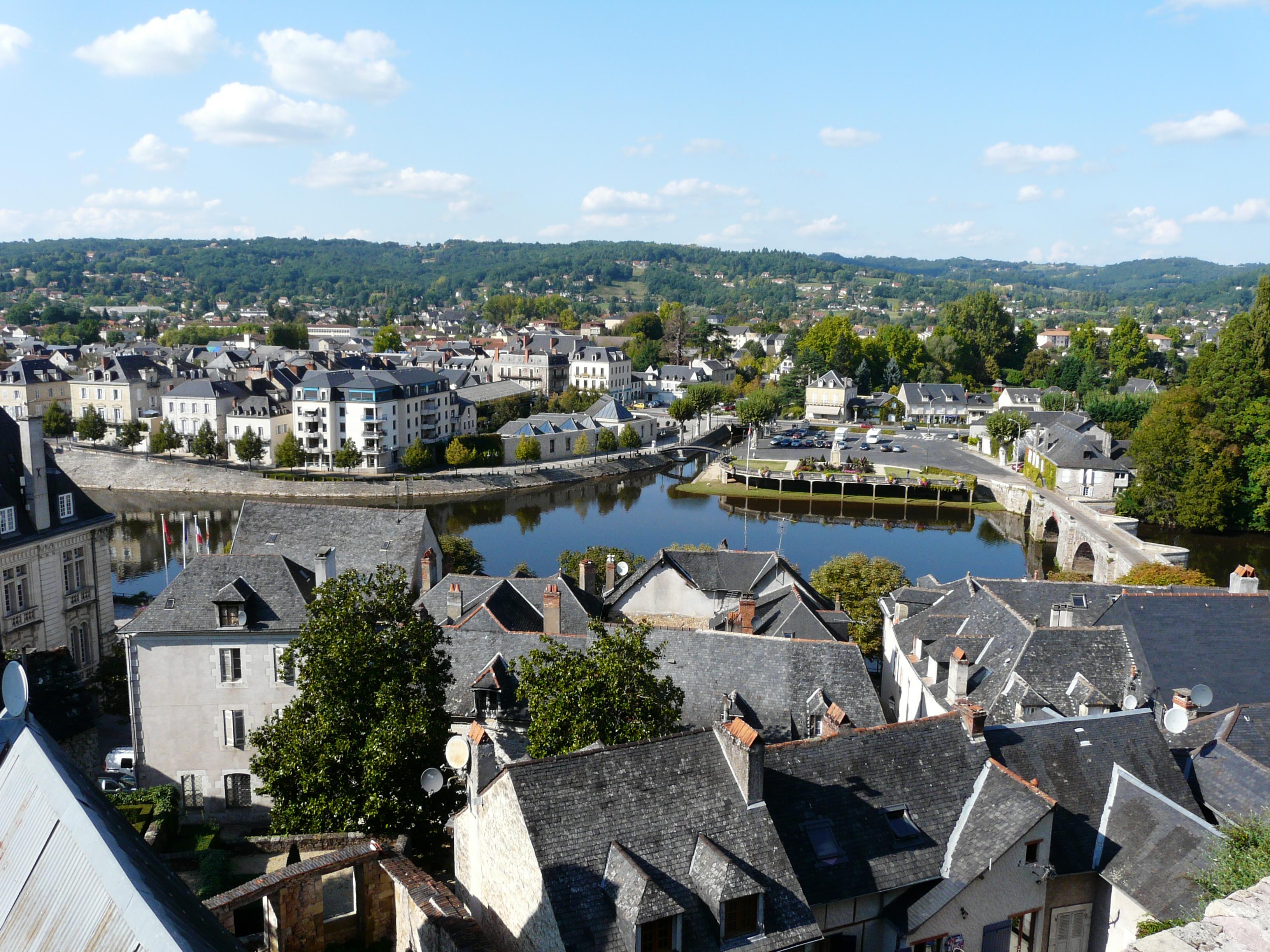 La Ville De Riverdae Carte