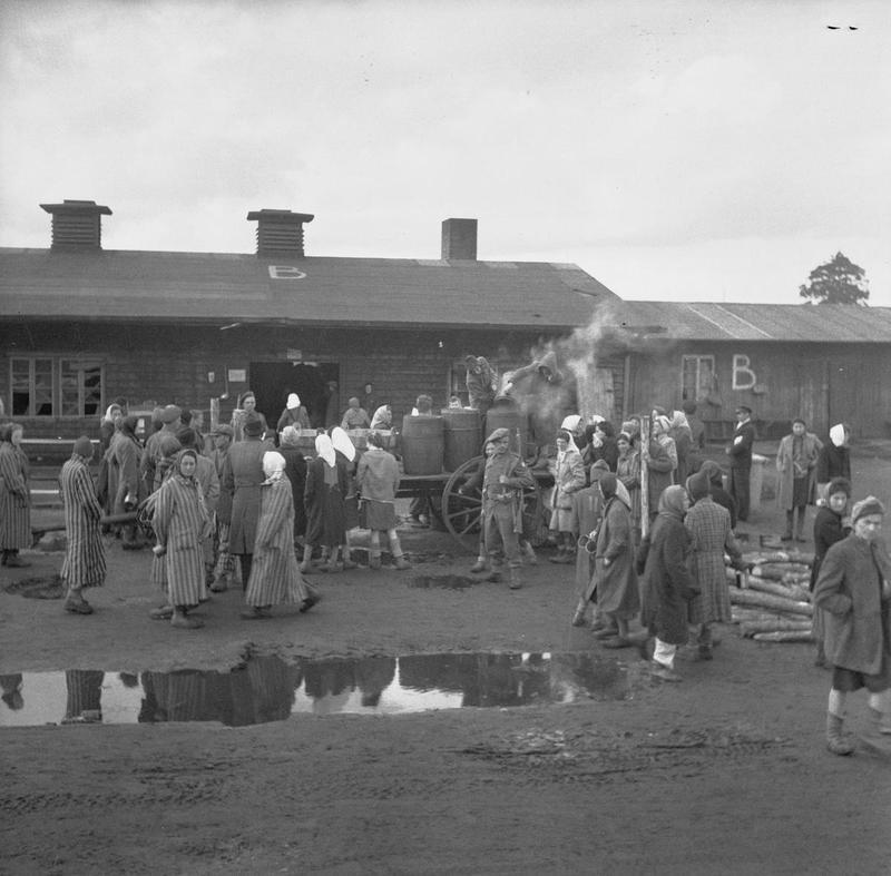 THE LIBERATION OF BERGEN-BELSEN CONCENTRATION CAMP, APRIL