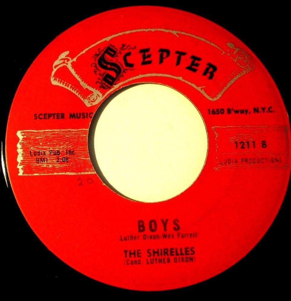 Boys (The Shirelles song) - Wikipedia