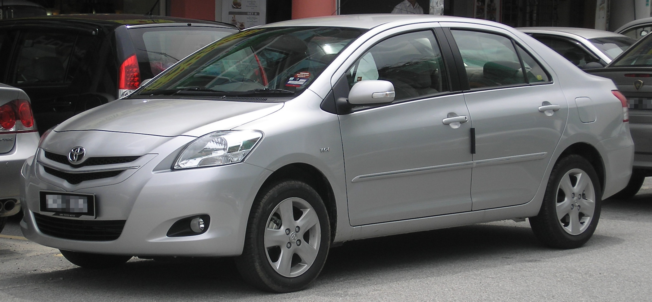 File Toyota Vios G Second Generation Front Serdang